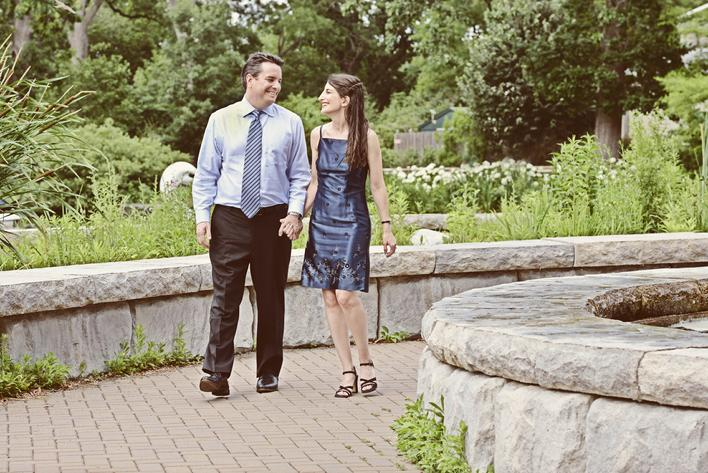 Philly Zoo engagement, Engagement portraits